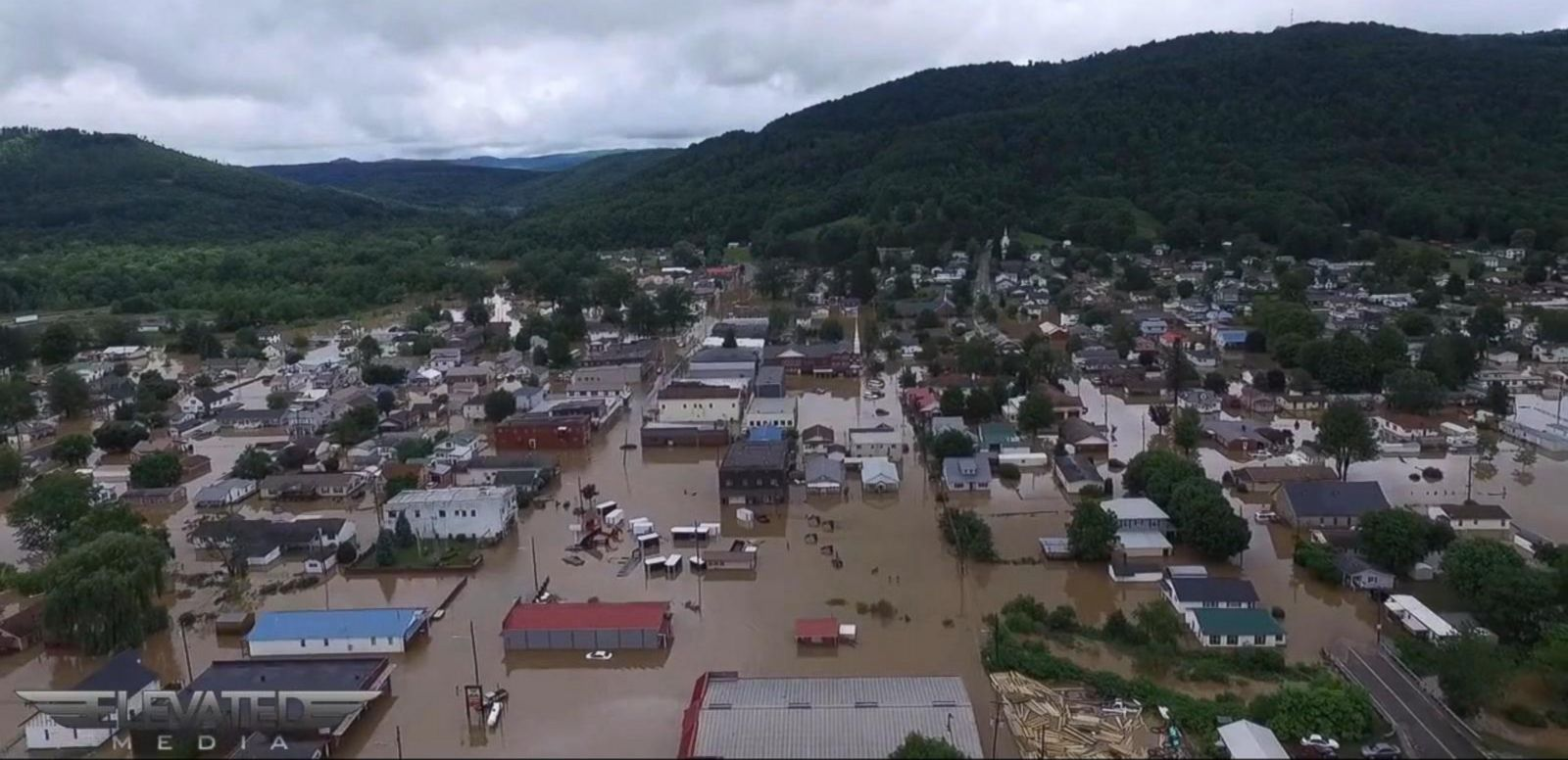 VIDEO: Inside the West Virginia Flood Damage Disaster Zone