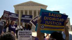 VIDEO: Supreme Court Strikes Down Texas Abortion Law