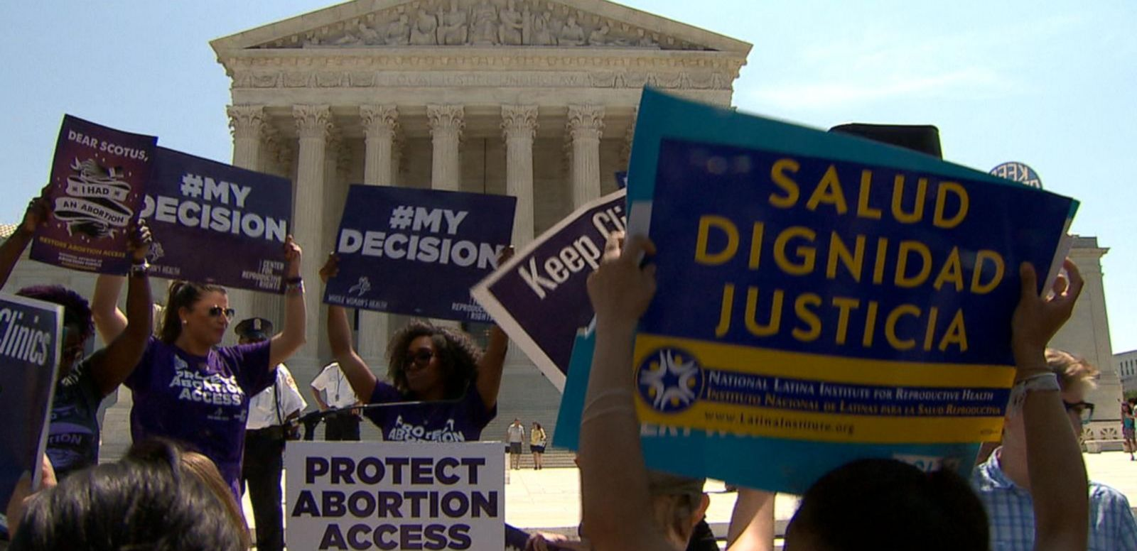 VIDEO: Supreme Court Strikes Down Texas Abortion Law