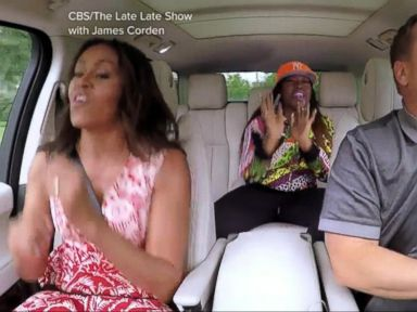 WATCH:  Index: First Lady Michelle Obama Jams Out in, Carpool Karaoke
