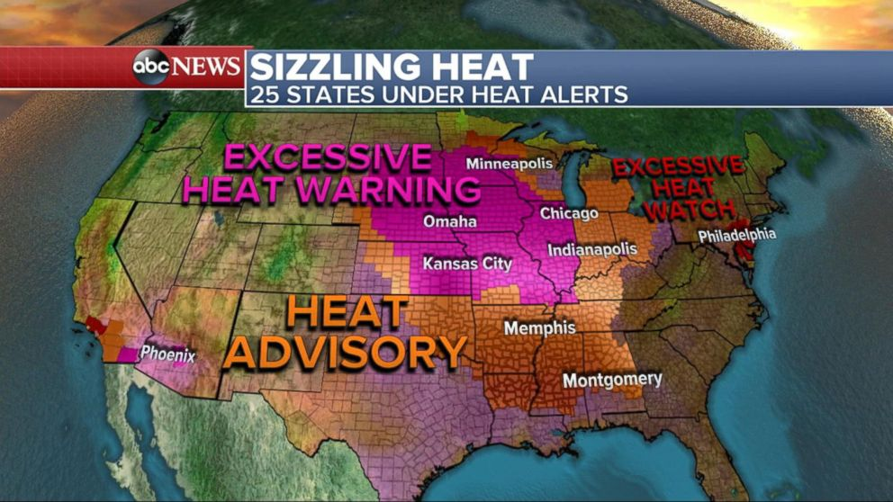 Dangerous Heat Fuels Deadly Storms Across the Country Video - ABC News