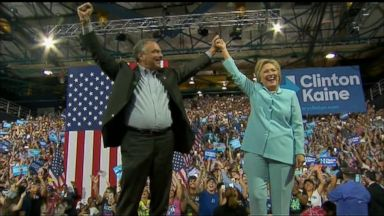 VIDEO: World News 07/23/16: Hillary Clinton and Tim Kaine Debut as Running Mates