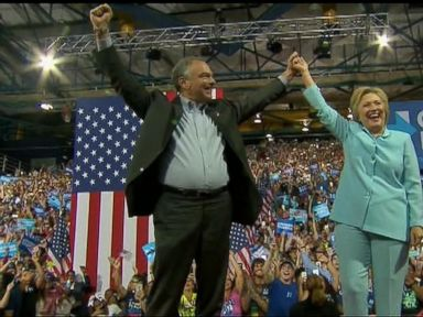 WATCH:  World News 07/23/16: Hillary Clinton and Tim Kaine Debut as Running Mates
