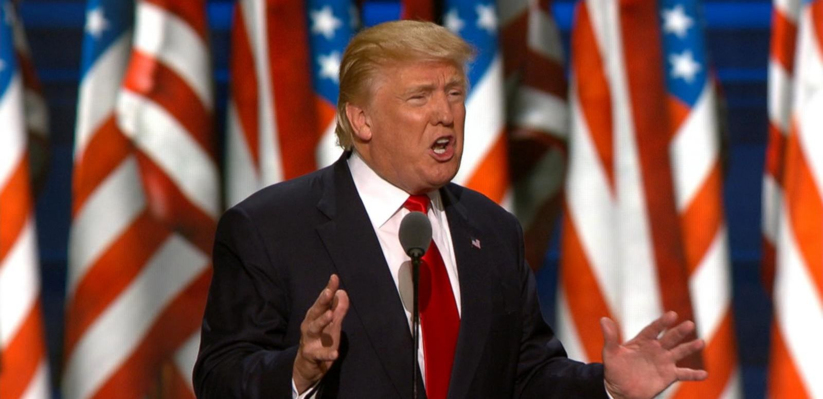 VIDEO: Trump Brags About the Length of his RNC Speech