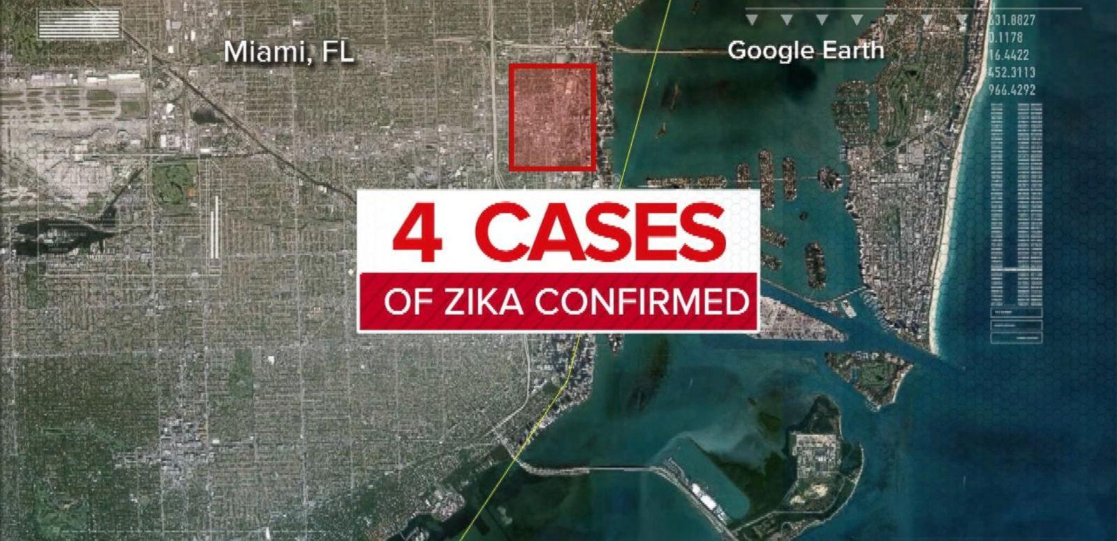 VIDEO: Zika Virus Arrives in Florida