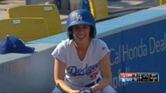 VIDEO: Ball Girl at Dodger Stadium Saves Fan From Ball Traveling 108 MPH