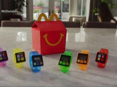WATCH:  Index: McDonalds Replacing Toys That Track Activity in Happy Meals
