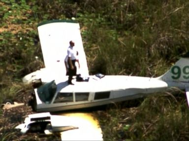 WATCH:  Index: Small Plane Crashes in the Everglades