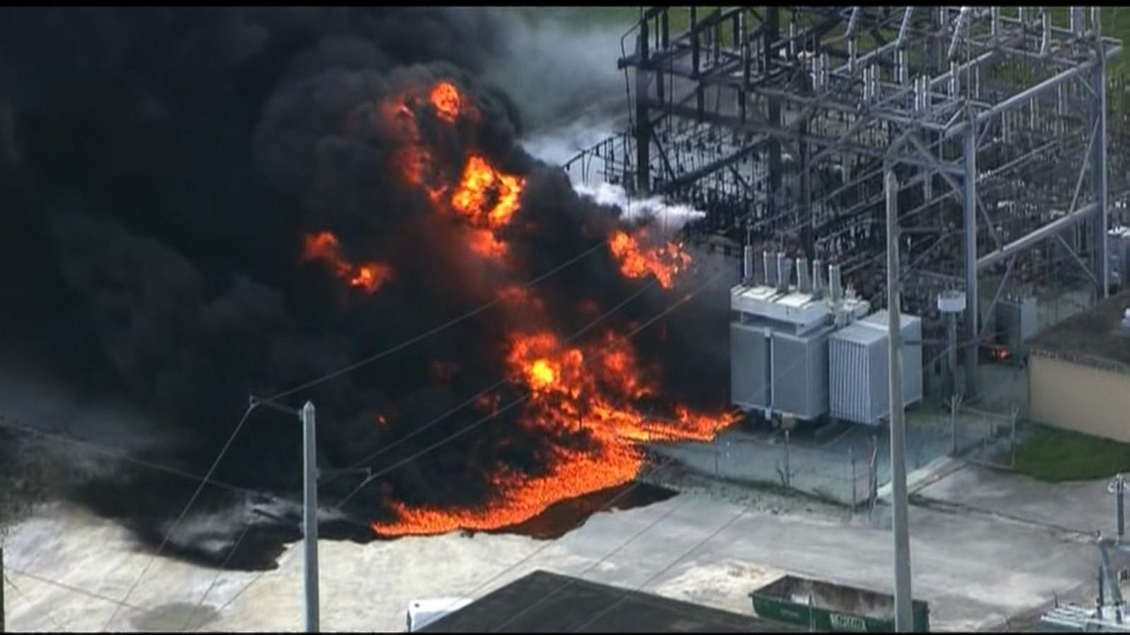 VIDEO: Index: Thousands in Florida Without Power Following a Power Plant Explosion