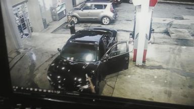 VIDEO: Georgia Gas Station Shootout Caught on Camera