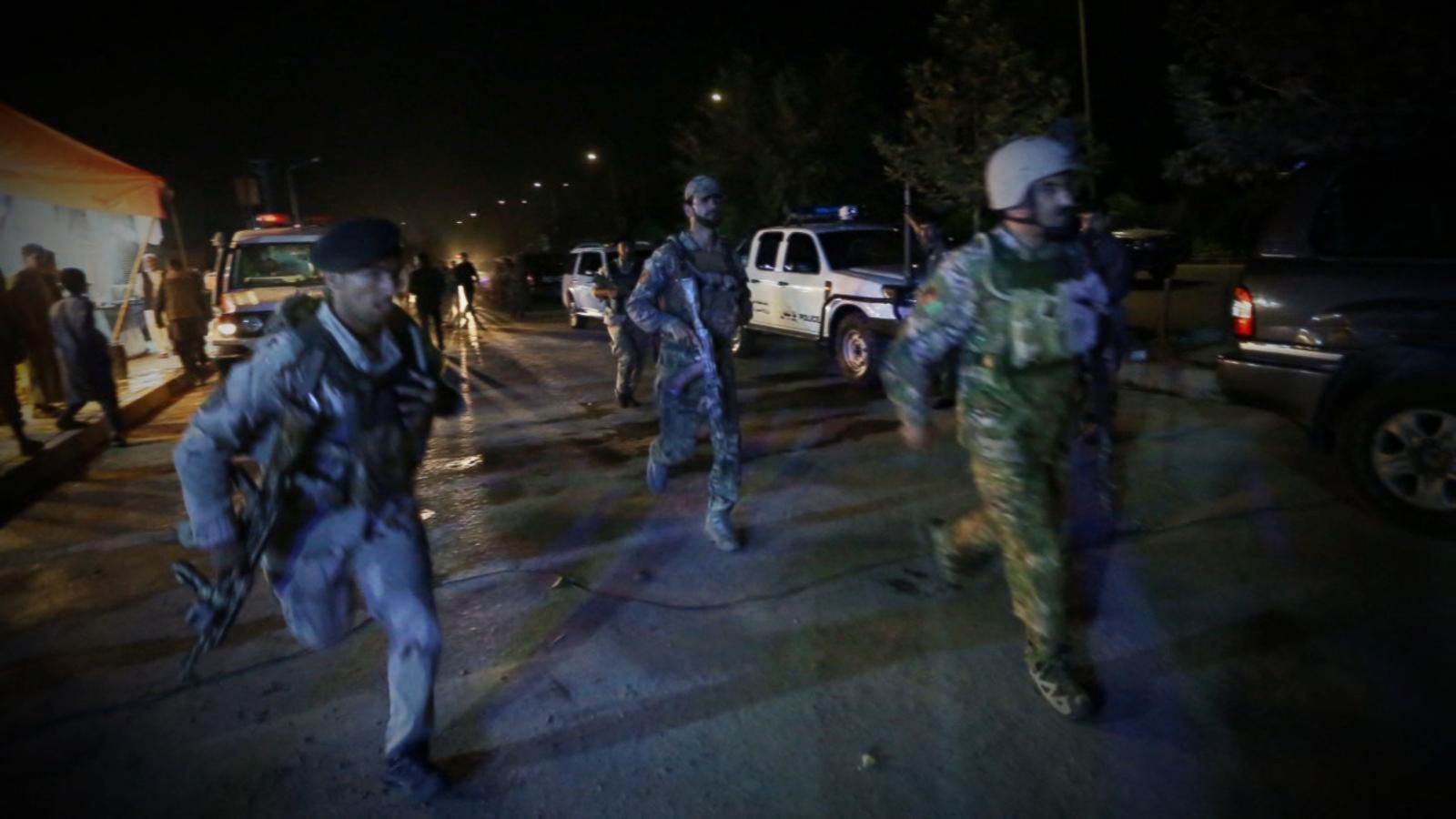 VIDEO: American University in Kabul Attacked by Gunmen