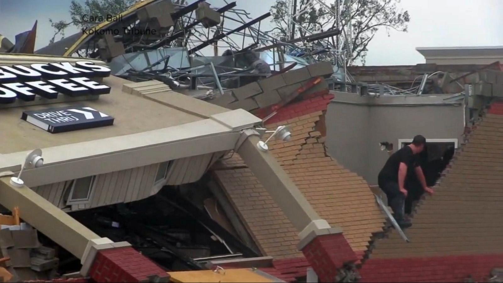 VIDEO: Strong Storms Wreak Havoc Across the Heartland