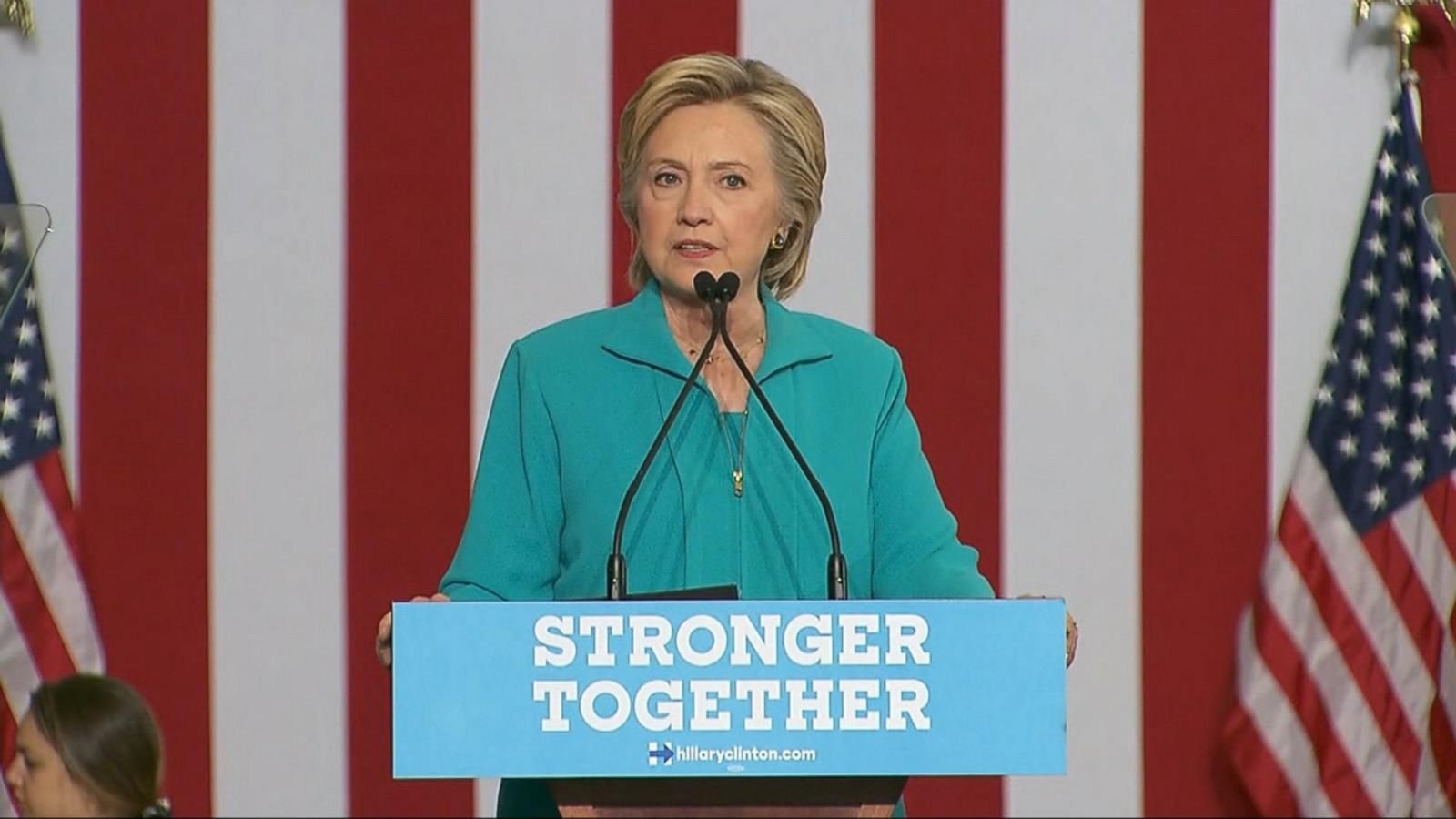 VIDEO: Hillary Clinton on the Offensive After Trump Calls Her a 'Bigot'