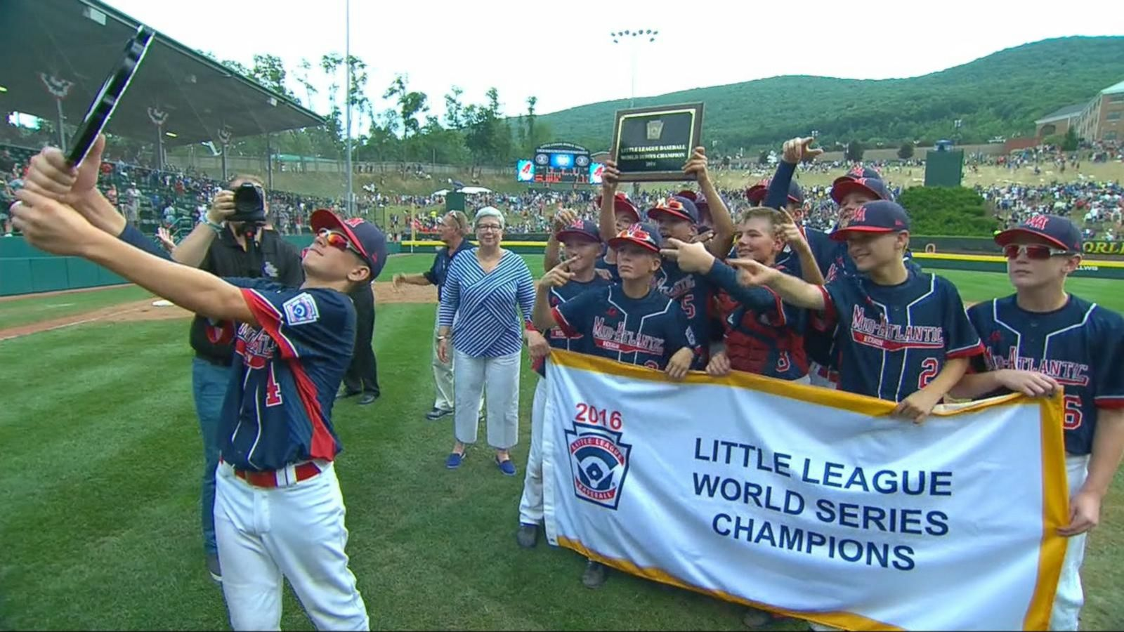 VIDEO: Little League Team Wins World Series Championship and a Perfect Season