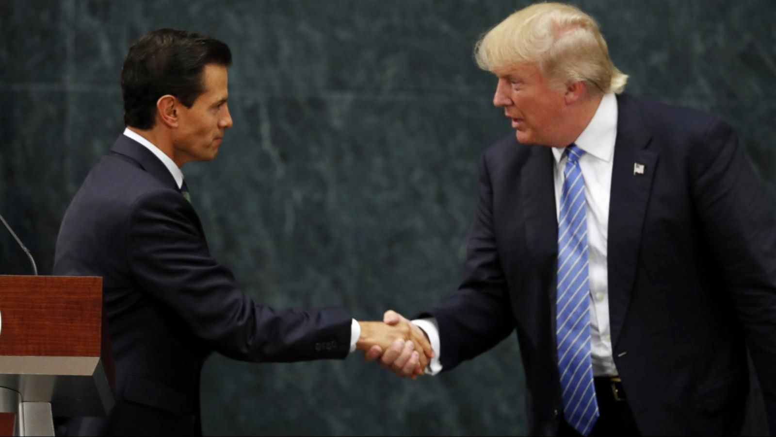 VIDEO: Donald Trump Meets Mexico's President