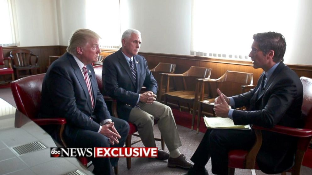 Extended Interview: Trump, Pence Sit Down With David Muir