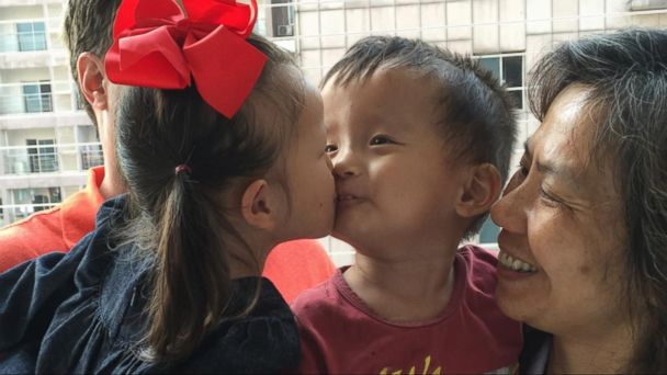 VIDEO: Little Girl Rescued From Chinese Orphanage Is Reunited With Friend