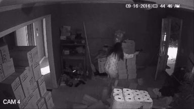 VIDEO: A Woman Confronts 3 Suspects During a Home Invasion, Killing One