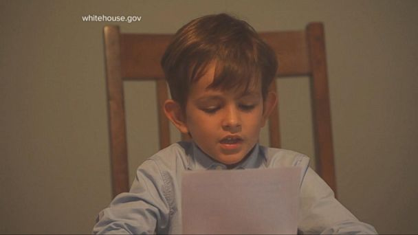 VIDEO: A 6-Year-Old Writes a Compassionate Letter to President Obama