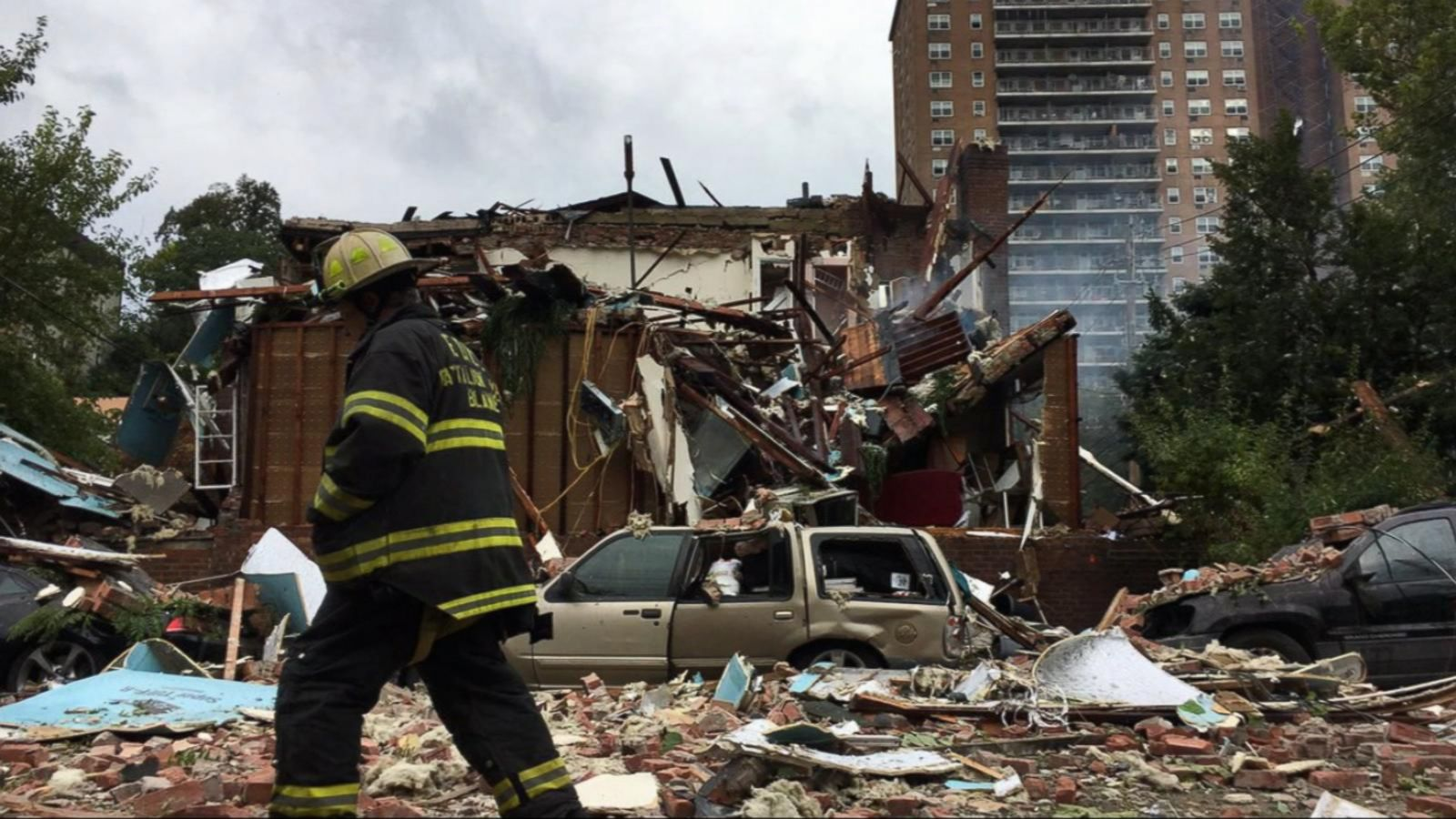 VIDEO: Bronx Gas Explosion Kills Firefighter