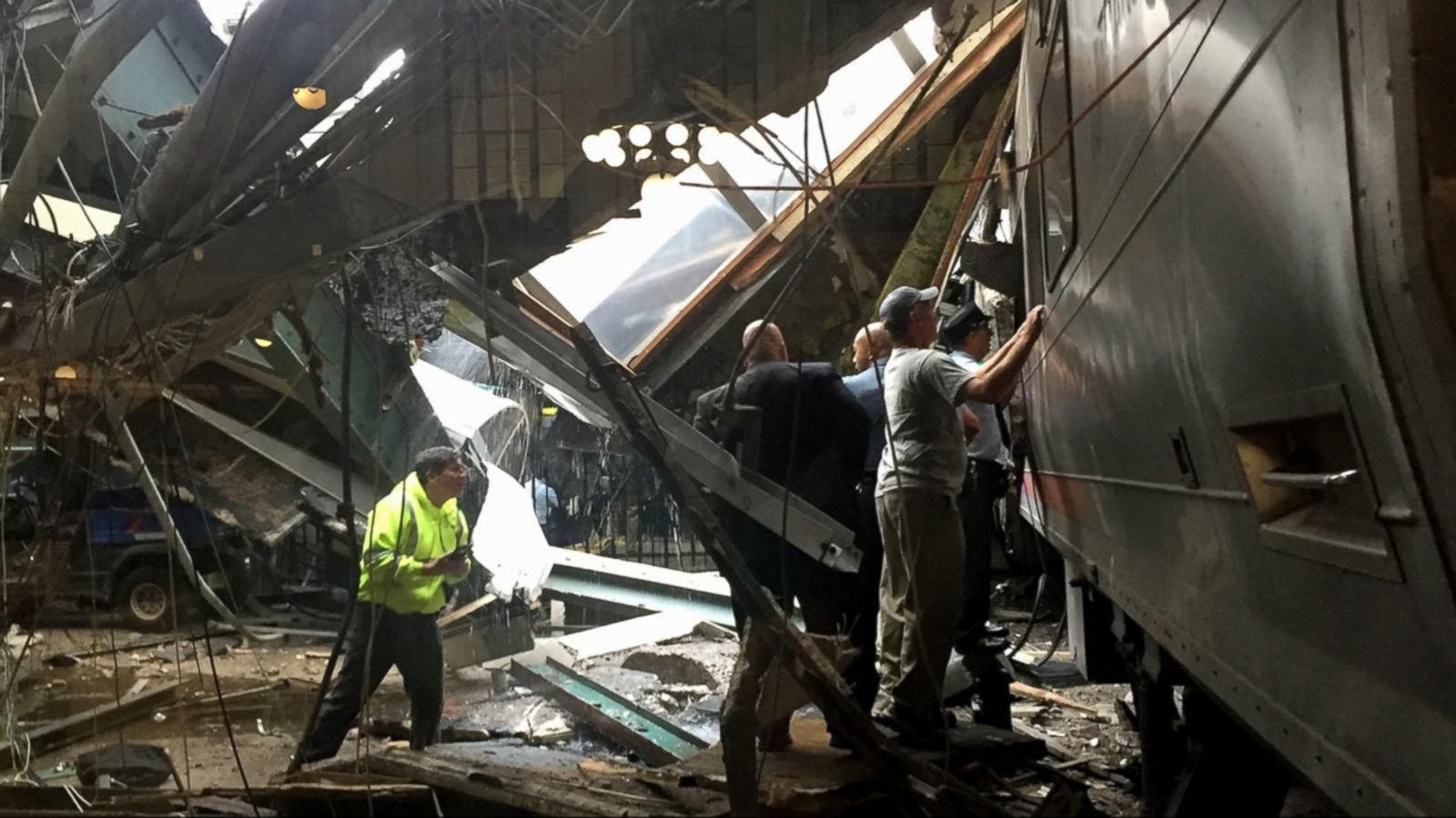 VIDEO: NJ Train Crashes in Hoboken Station During Rush Hour
