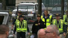 VIDEO: Federal Investigators at Scene of NJ Train Crash Within Hours
