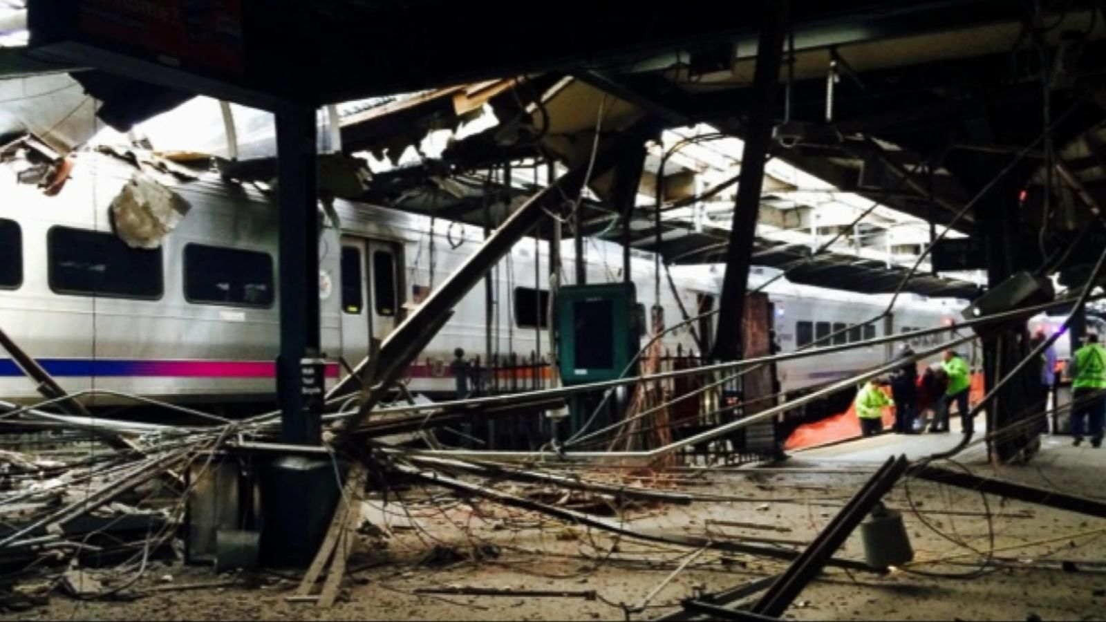 VIDEO: More Details Emerge in Hoboken Train Accident