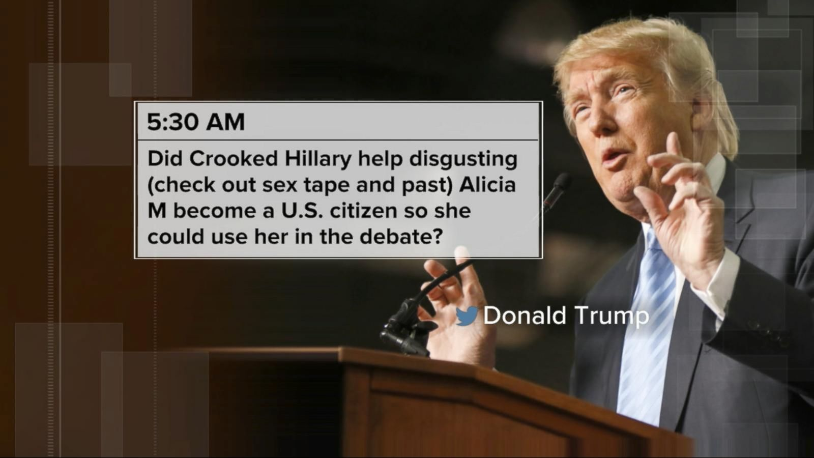 VIDEO: Trump Goes on Early Morning Twitter Attack