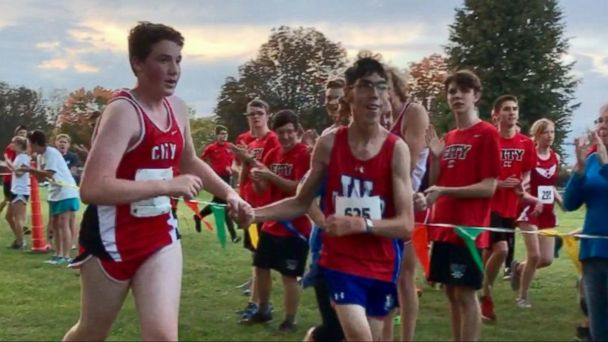 VIDEO: Our 'Persons of the Week' Highlights Runner at High School Cross-Country Meet