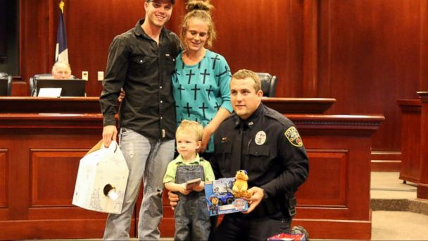 VIDEO: Police Officer Saves Little Boy Who Stopped Breathing in Texas
