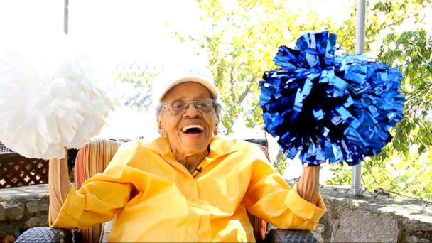 VIDEO: Meet a 101-Year-Old Cheerleader Who Still Has Plenty to Cheer About