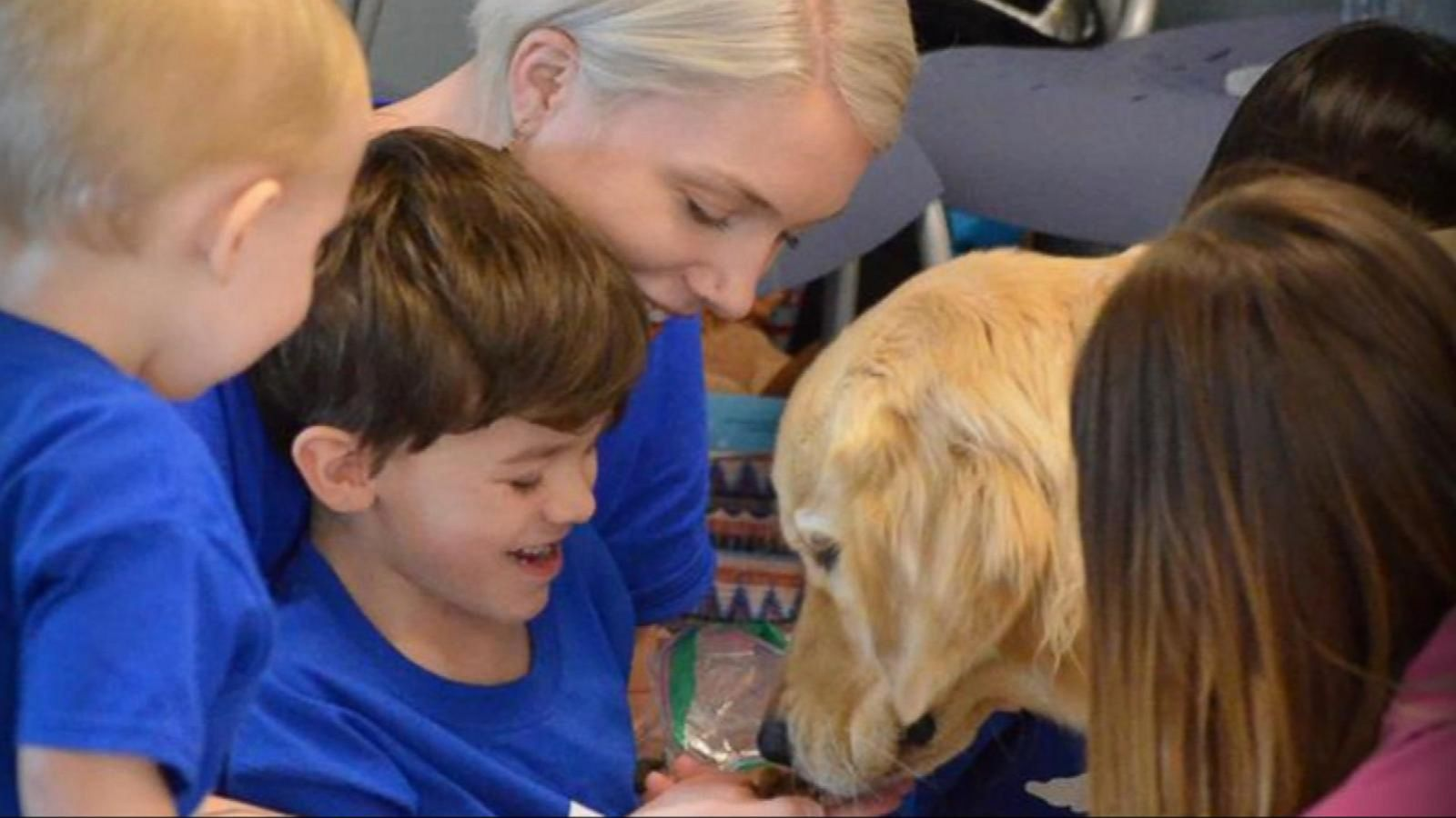 VIDEO: A Mom Cries Tears of Joy When Her Child Meets His Special Pet