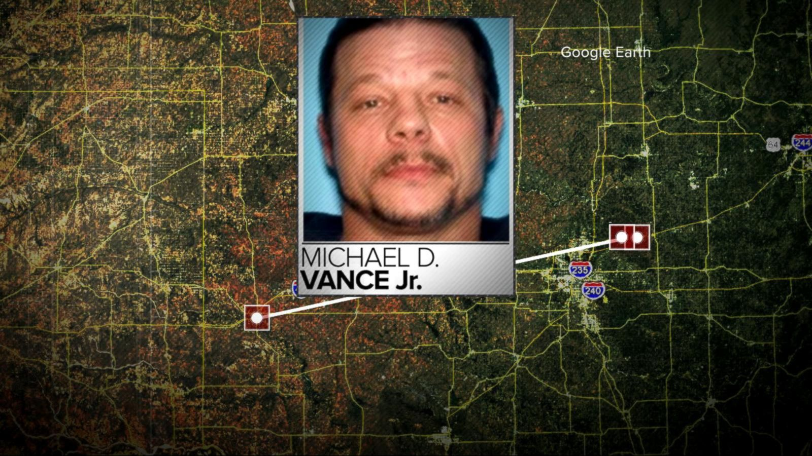VIDEO: New Details Emerge in Hunt for Oklahoma Shooter
