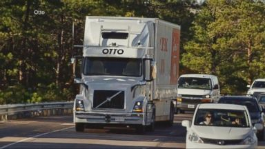 VIDEO: Self-Driving Truck Makes First Delivery
