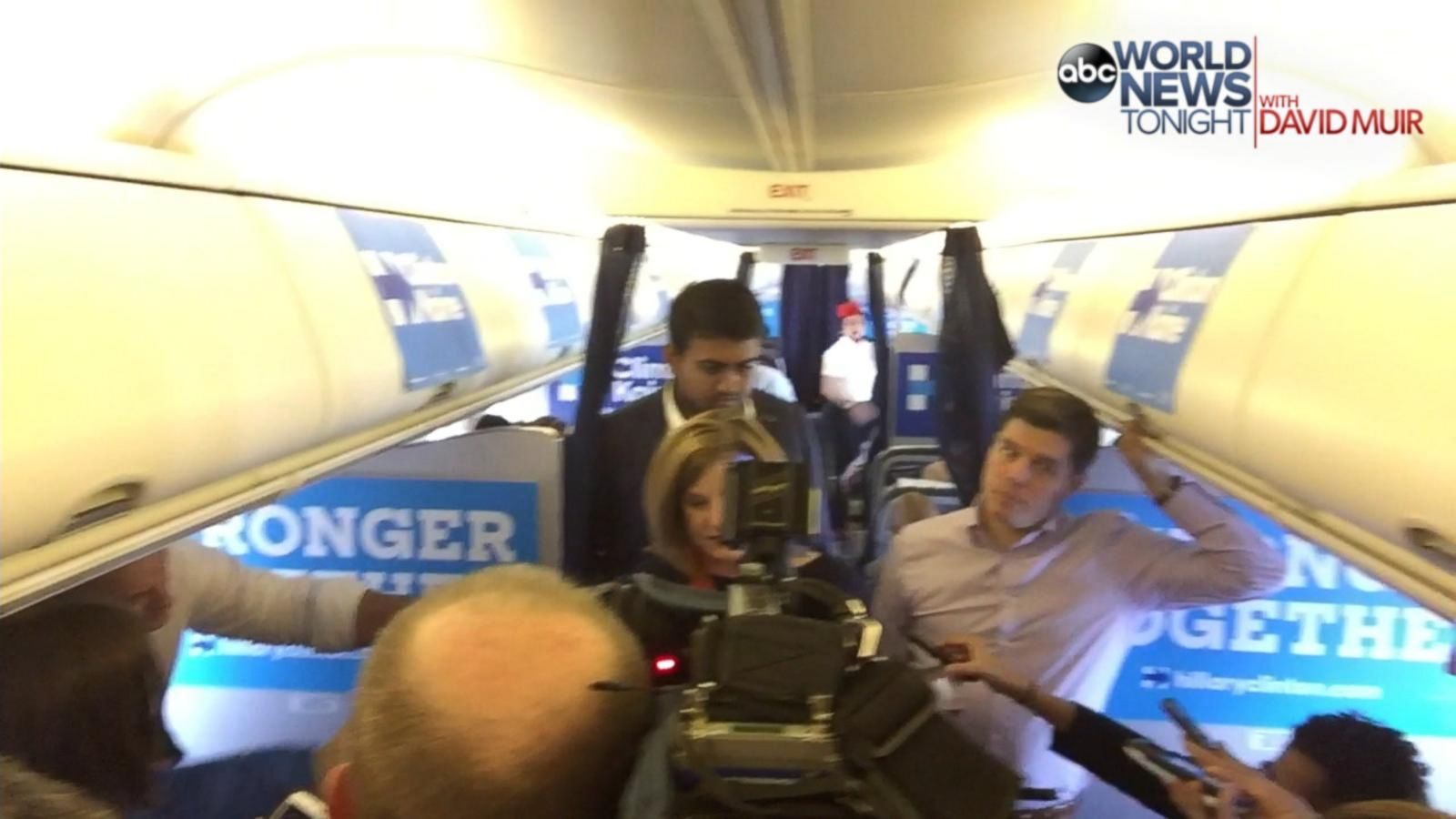 VIDEO: 2016 - 14 Days: On Board 'Hill Force One' Before Clinton Campaigns in FL