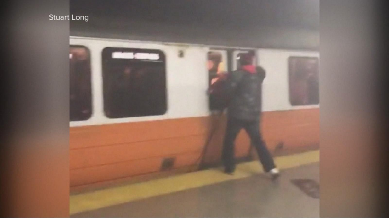 VIDEO: Train Fire Causes Rush Hour Nightmare in Boston