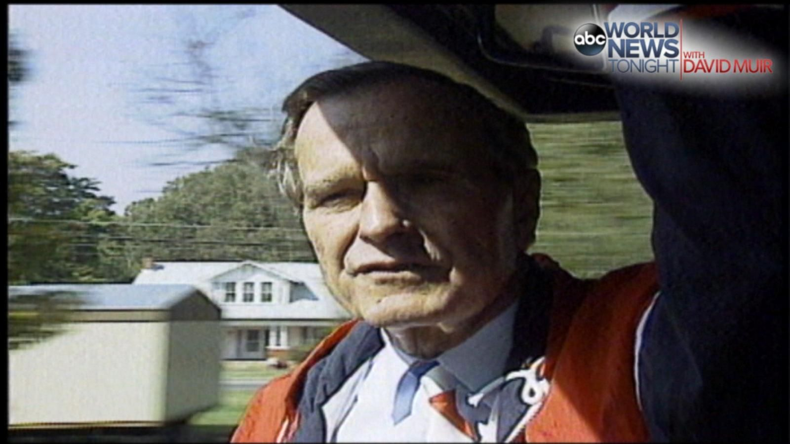VIDEO: 1992 - 13 Days: Trailing Bush Gives ABC News Whistle Stop Interview