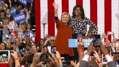 VIDEO: World News 10/27/16: Michelle Obama Joins Hillary Clinton on the Campaign Trail