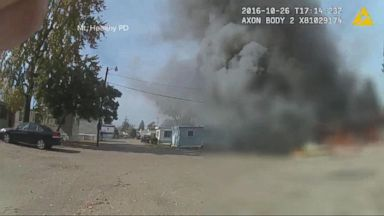 VIDEO: Cincinnati Police Officer Catches a Mystery Explosion on His Body Camera