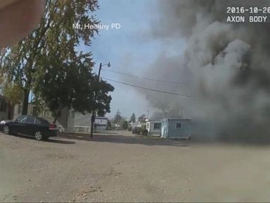 WATCH:  Cincinnati Police Officer Catches a Mystery Explosion on His Body Camera