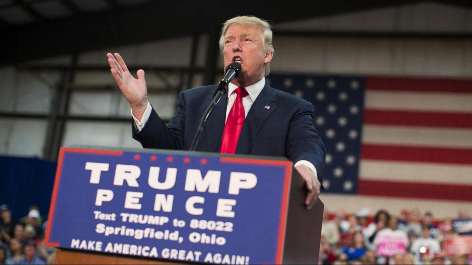 VIDEO: Donald Trump Attends Several Events in Battleground State Ohio