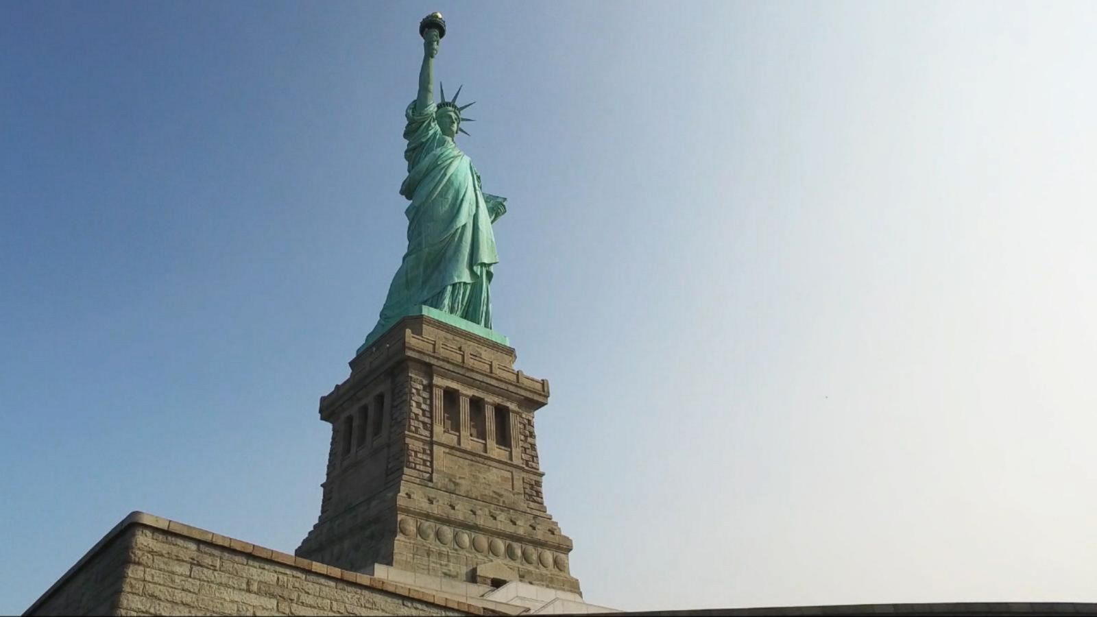 VIDEO: Lady Liberty, 130 Years Old and More Beautiful Than Ever