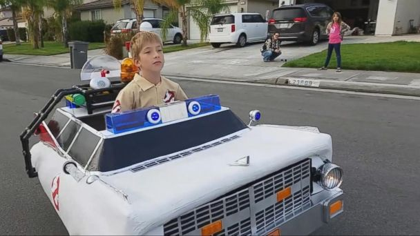 VIDEO: Ryan Scott Miller Is Known for Creating Special Halloween Costumes for His Son
