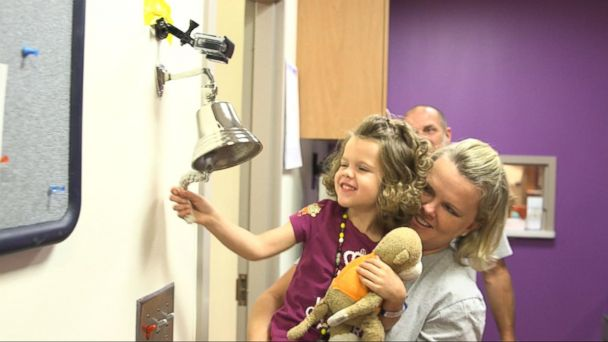 VIDEO: Young Cancer Warriors Ring Bell to End Their Treatment
