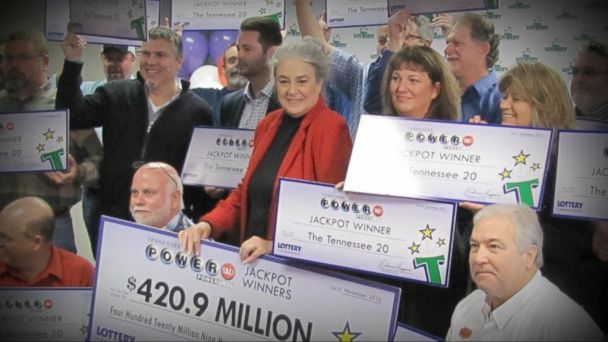 VIDEO: Meet the 'Tennessee 20,' the Big Winners of the $420 Million Jackpot