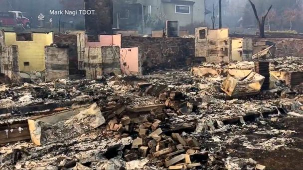 VIDEO: Wildfires Cause Terror and Devastation in Tennessee