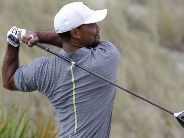WATCH:  Tiger Woods Returns to the Links After 15-Month Layoff