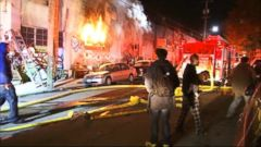 VIDEO: Fire Erupts During Party at Oakland Warehouse, Killing at Least 9