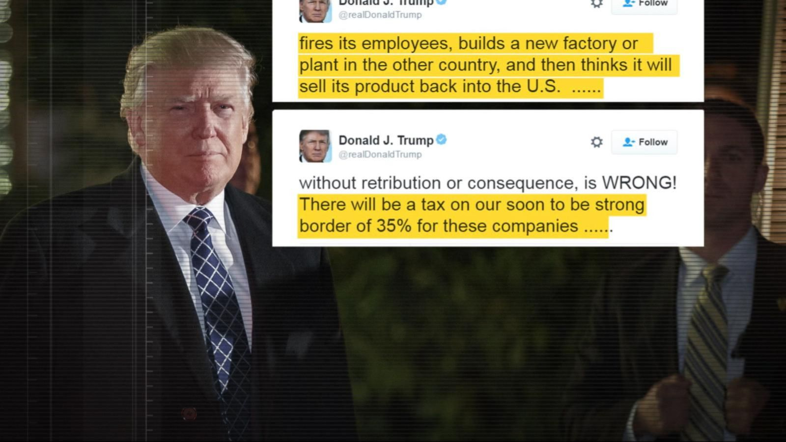 VIDEO: Trump Warns Companies Against Making 'Expensive Mistake'