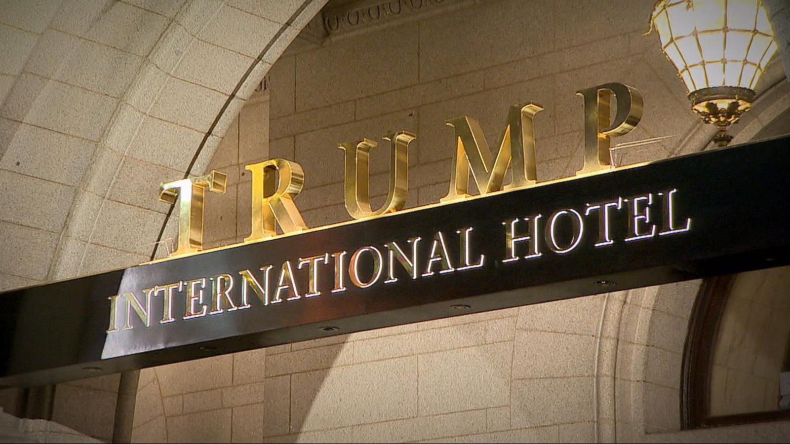 VIDEO: Governments Appear to Court Incoming Administration With Trump Hotel Events